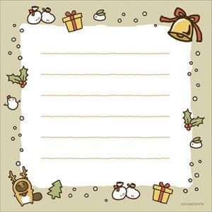 便箋_クリスマス