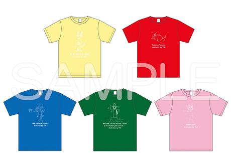 落書き風Tシャツ2_sample