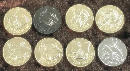 400達成_メタルコイン