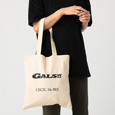 『GALS!!』×CECIL McBEE_トートバッグ