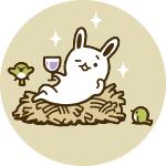 ウサギ&トリ