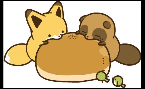 タヌキとキツネ